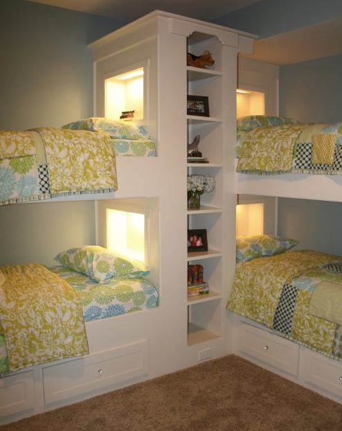 Small Space Bedroom - Bunk Bed Mania