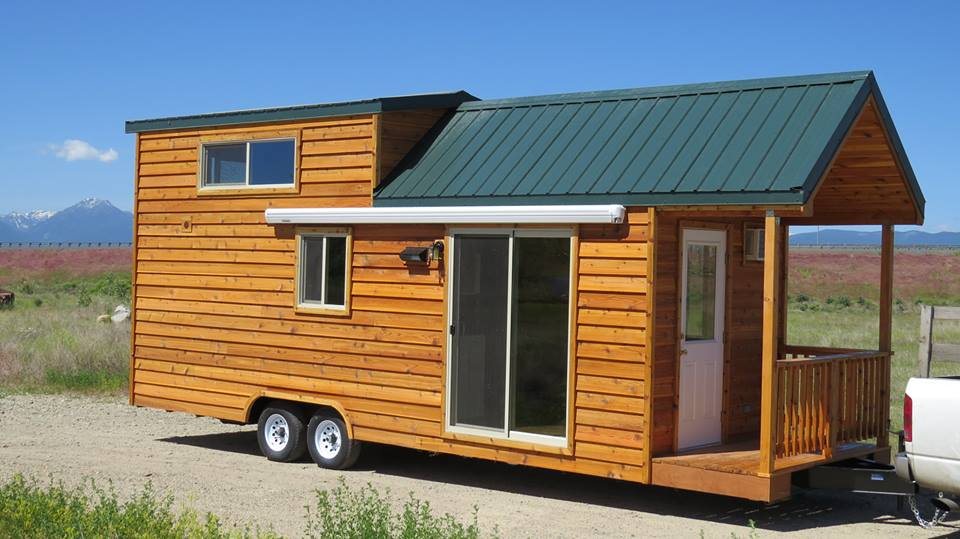 Spacious tiny house living in rich 39 s portable cabins - Theusd tiny house the shortest way to freedom ...
