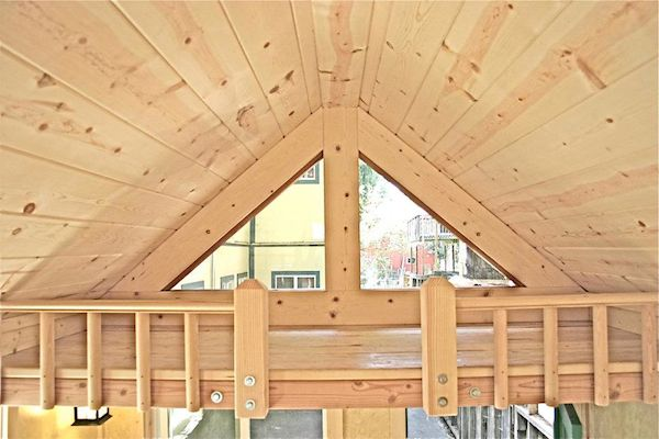 Storage or Second Sleeping Loft in Tiny Home