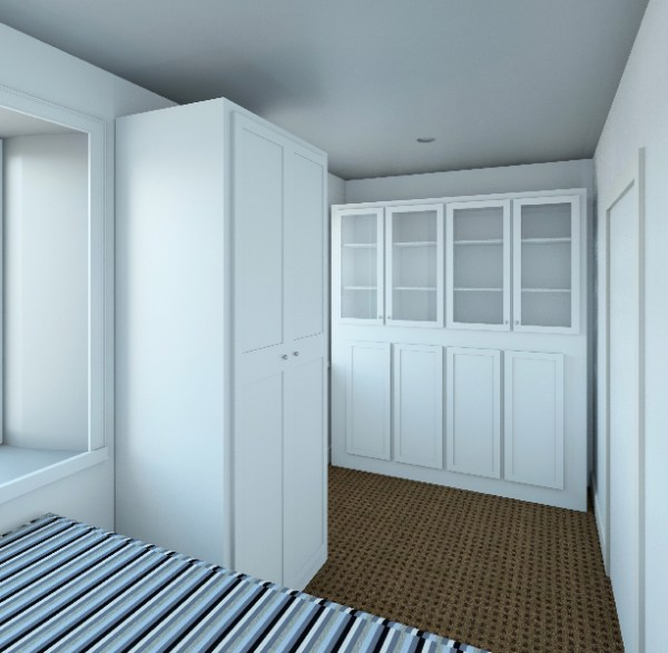 Storage in Micro Loft Apartments