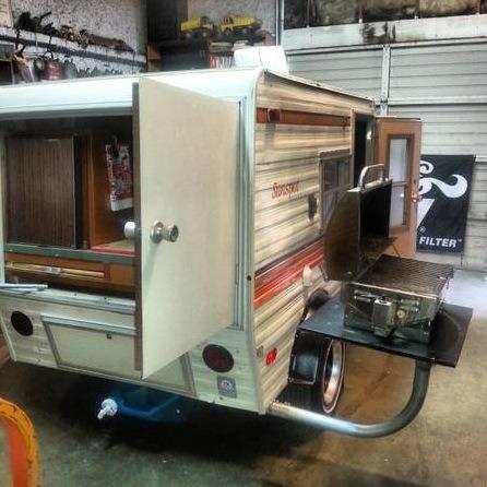 vintage 1978 8 39 sunline micro travel trailer for sale. Black Bedroom Furniture Sets. Home Design Ideas