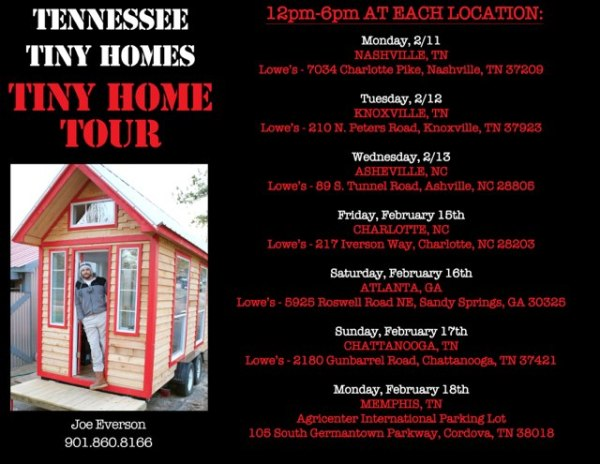 Tennessee Tiny Homes Tour