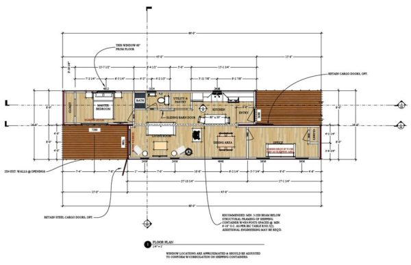 720 sq ft shipping container house plans for Container home design software free