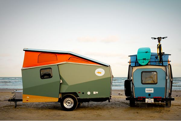 The Cricket Trailer Rv With Low Travel Costs To Combat
