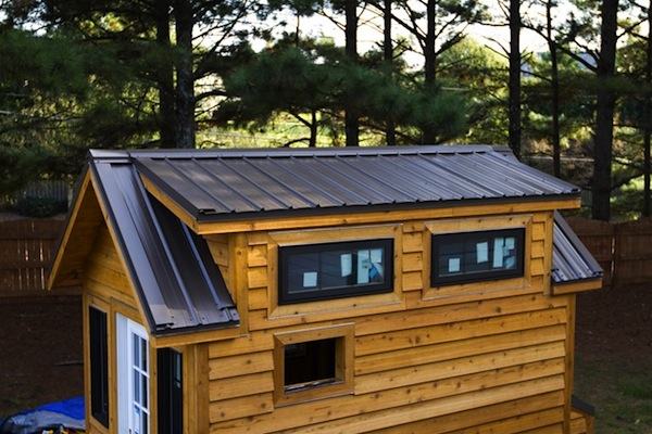 Tinier Living: Tiny House Metal Roof Installation