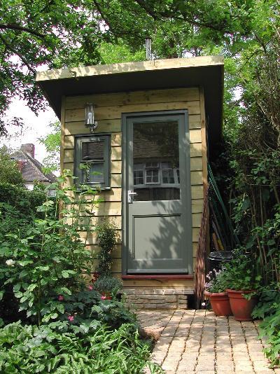 Tiny Backyard Hut