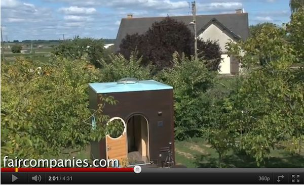 Tiny Cube House in France - Video Tour