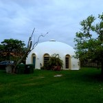 Grandfathered-in Tiny Dome Home in Miami