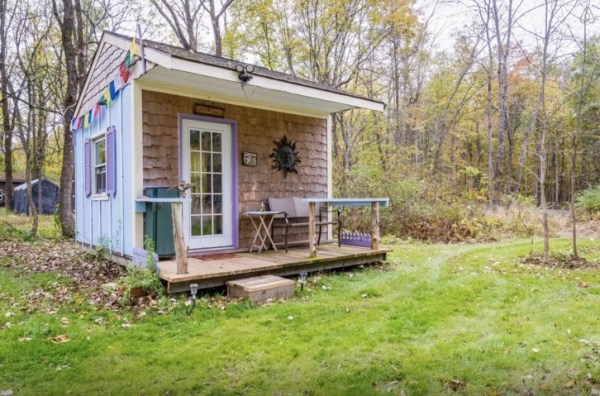Off Grid Country Micro Cabin Vacation in New York