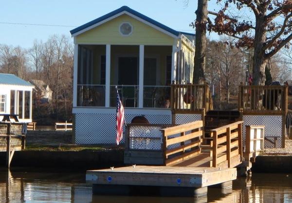 Waterfront Tiny Home Vacation Community