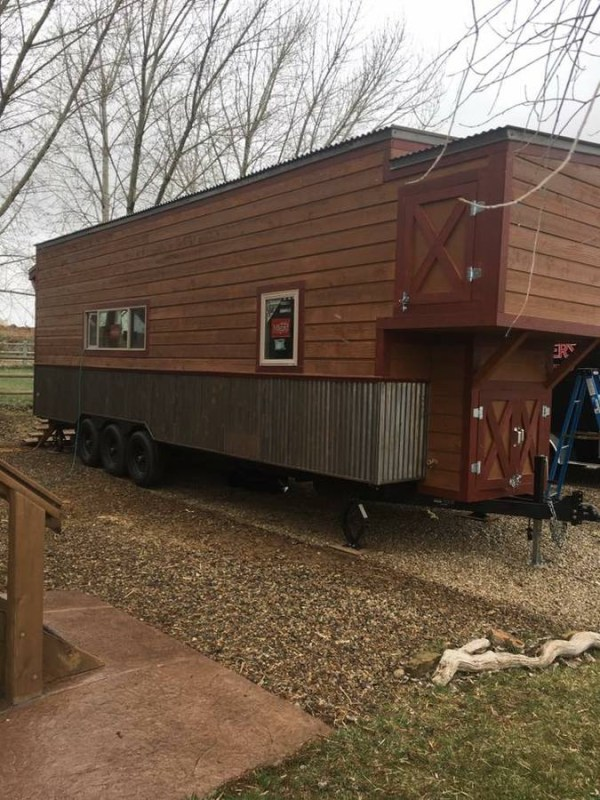 28' Custom Tiny House For Sale in Durango, CO