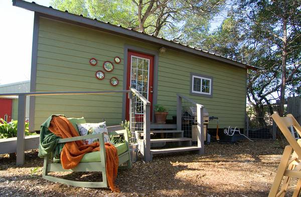 250 Sq. Ft. Couple's Tiny House For Sale Near Austin, TX