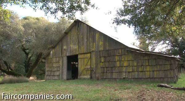 Tiny House in a Sheep Barn