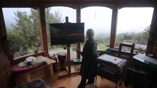 Luane Brauner's Housetruck in Golden Bay New Zealand