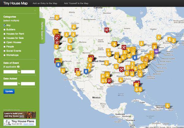 Tiny House Maps Classifieds