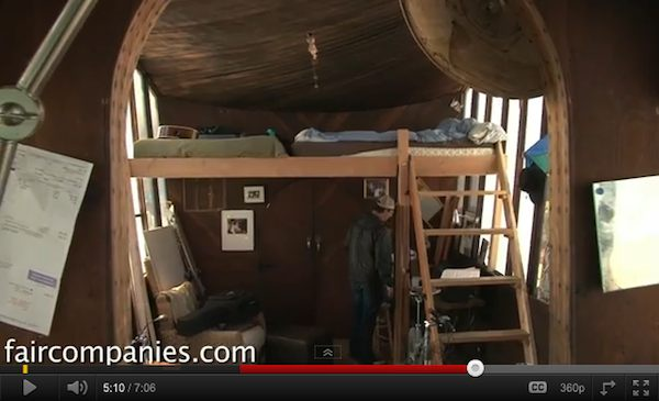 Tiny House of the Week: Fivers Houseboat Tour