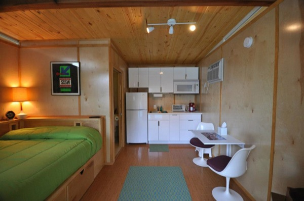 Backyard Tiny House Studio Interior