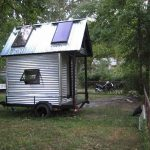 Tiny House with two Roof Windows using XS Plans