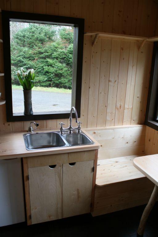 Tonys Caravan Tiny House By Hornby Island Caravans