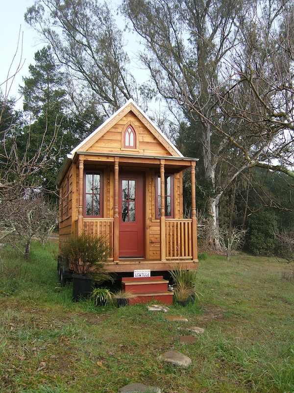 Tumbleweed Tiny House Floor Plans: One Of Jay Shafer's Original Tumbleweed Tiny Houses For