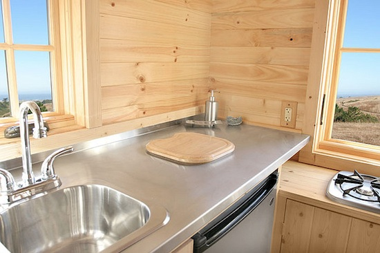 Tiny House Kitchen -- Tumbleweed Houses -- Weebee