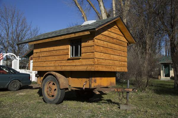 WW2 U.S. Army Ben Hur Trailer With Micro Cabin For Sale