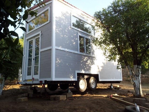 Young Family S Tiny House On Wheels