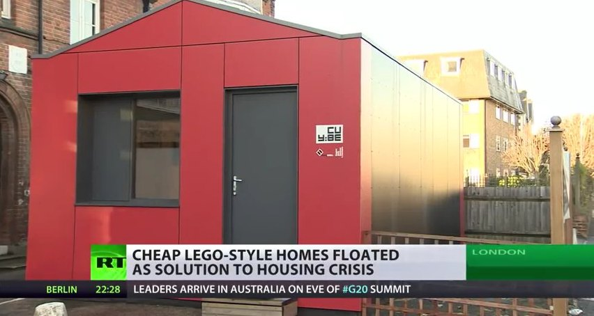280 Sq Ft YCube Prefab Tiny Houses In London
