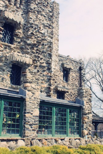 Atrium of Gillette Castle, State Park near Lyme Connecticut