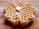 easy vegan waffle