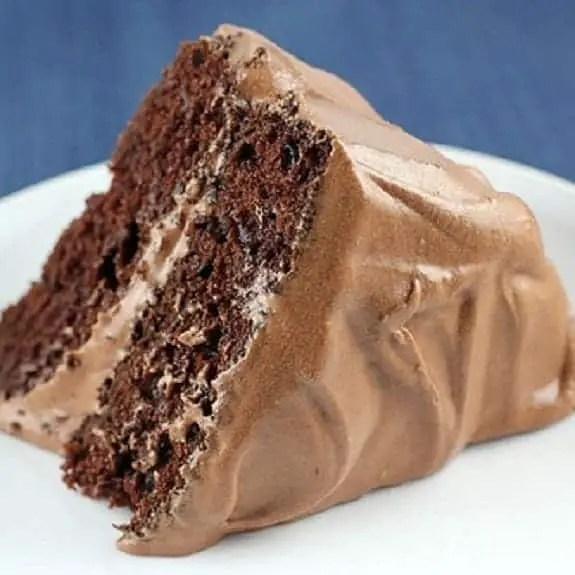 Oven Baked Mocha Cake