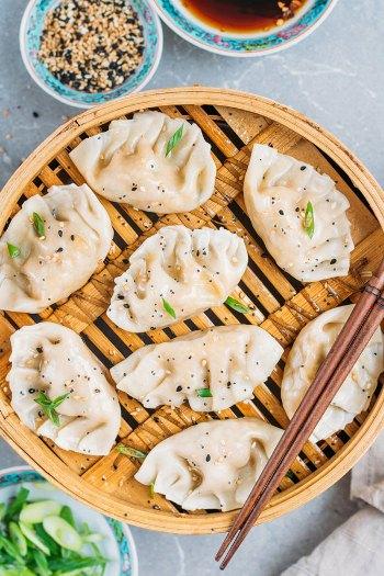 Vegetarian Steamed Dumplings