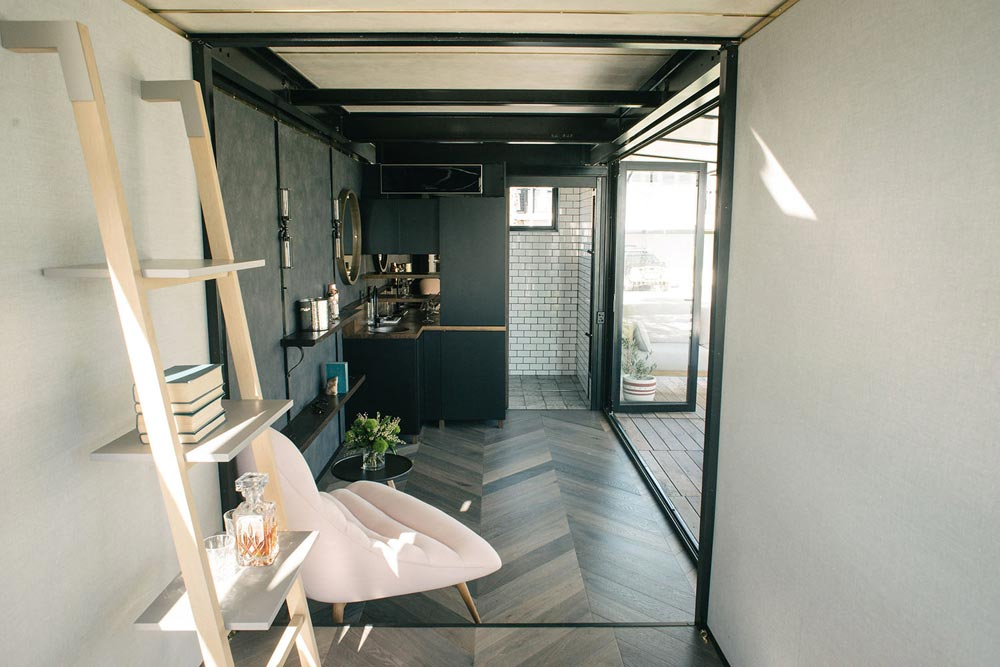 Portable Hotel Room By Contained Tiny Living