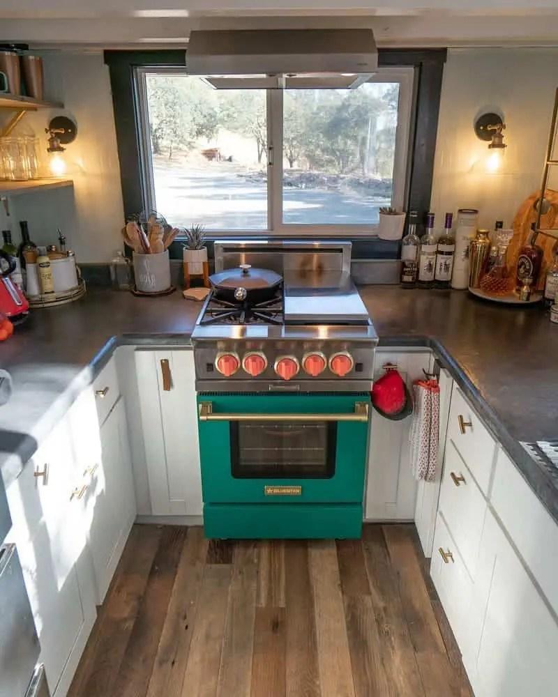 beautiful tiny home kitchen