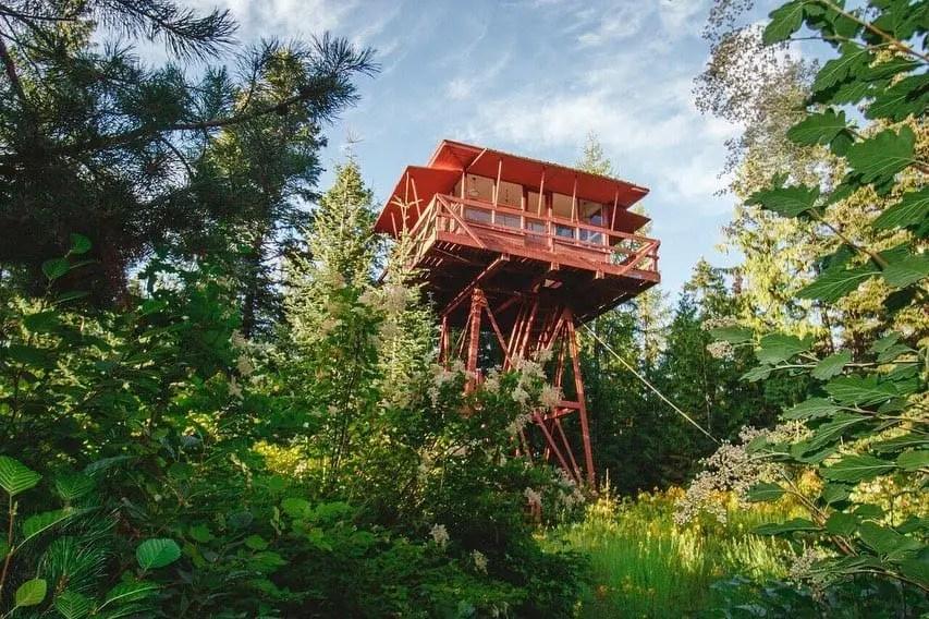 Northern Idaho Tiny House treehouse