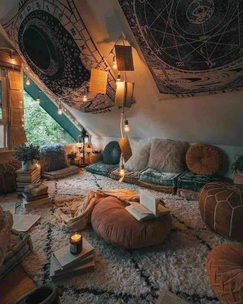 soft and cozy tiny house