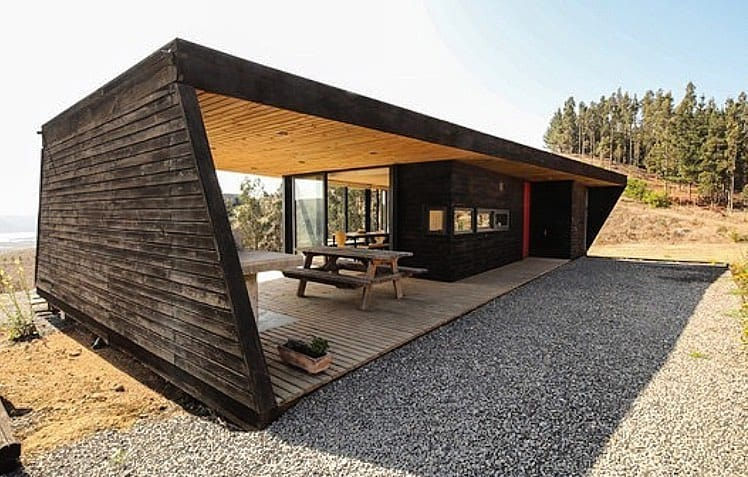 tiny house with outdoor design
