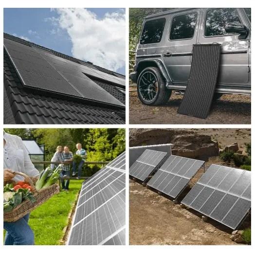 ALLPOWERS 100W Solar Panel