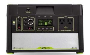 Yeti lithium 1400 watt