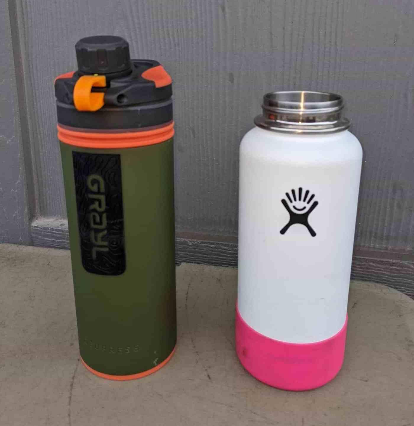 Grayl vs 32 oz Hydroflask