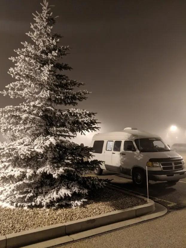 Vanlife winter