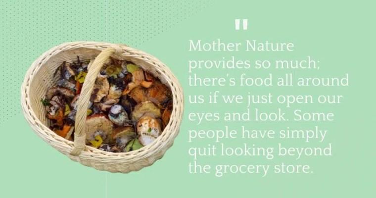 mushroom hunting quote