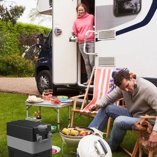 BougeRV 12Volt Portable Car Refrigerator