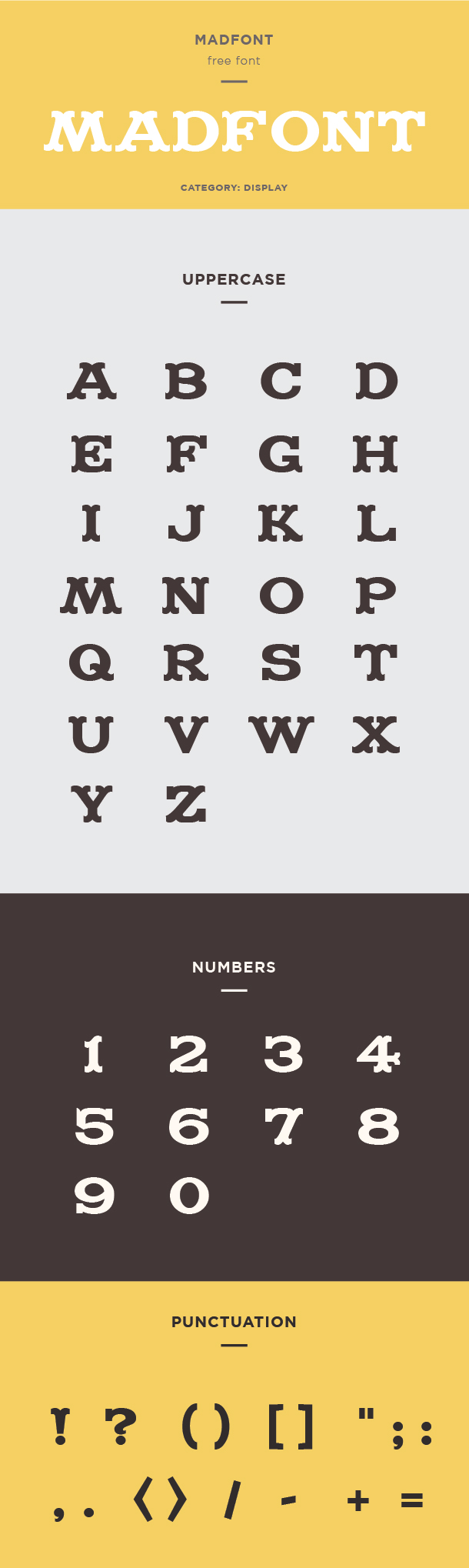 madfont font example