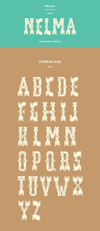 nelma font example