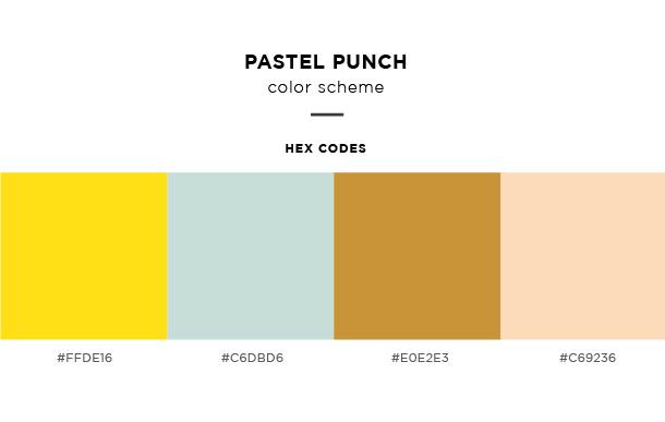 pastel punch color scheme