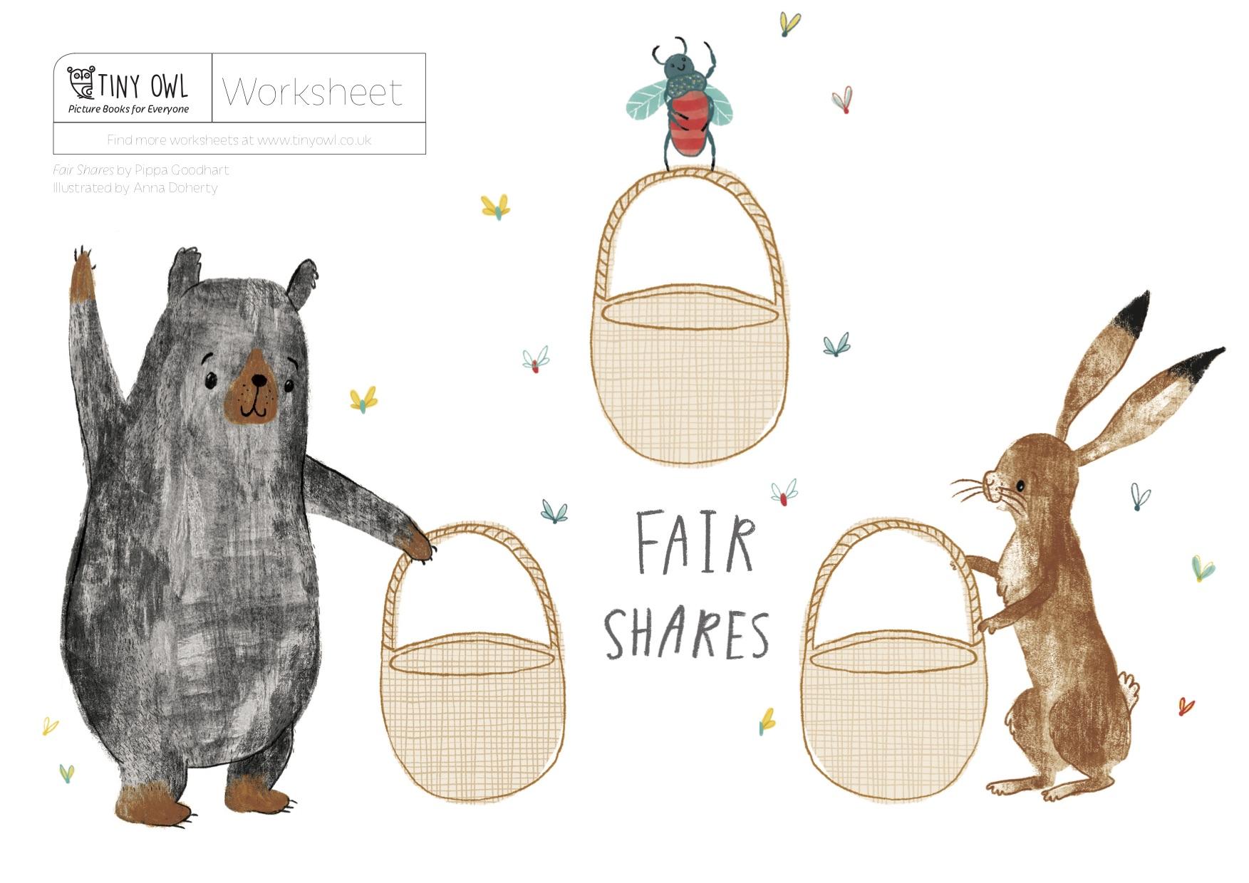 Fair Shares Ideas For Teachers Tiny Owl