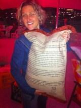 Inga Simpson author of Mr Wigg - photo by Alex Adsett