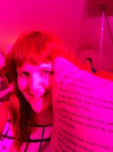 Aimee Lindorff - pillow fighter