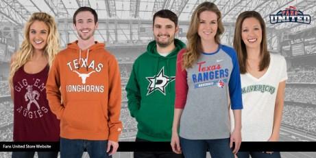 Fans United Store Website